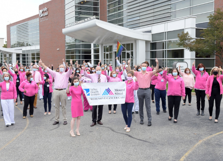 Valley staff participate in breast cancer walk